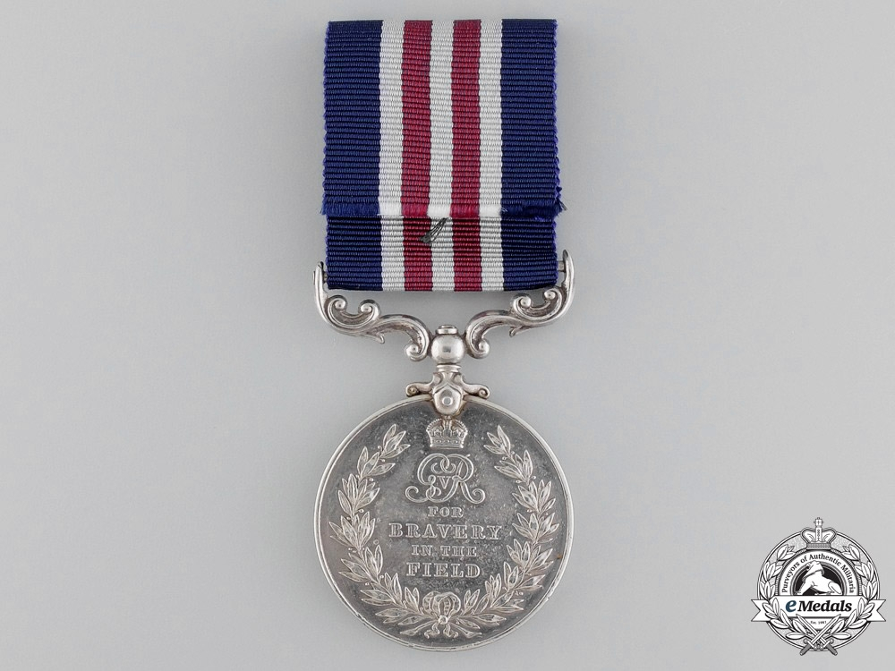 A Canadian Military Medal for Action at Battle of Pozières 1916