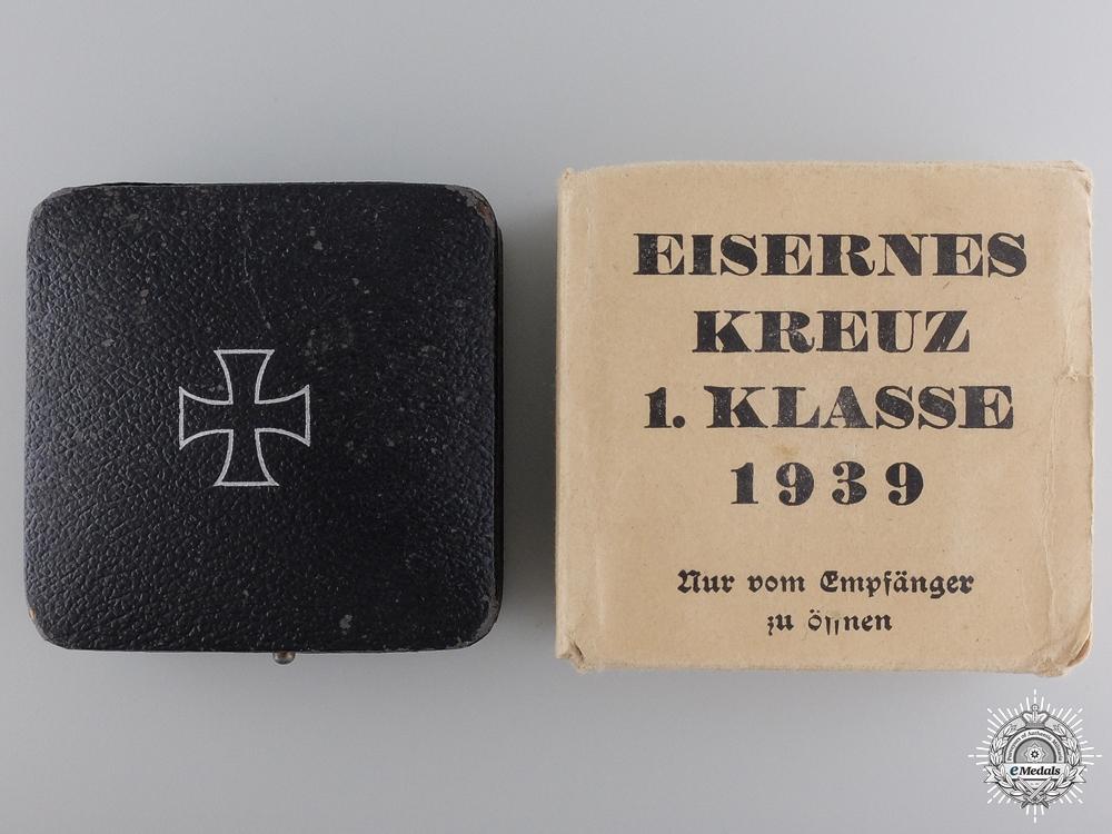 An EK 1st Class with Case & Outer Cartonage by Rudolf Wachtler & Lange
