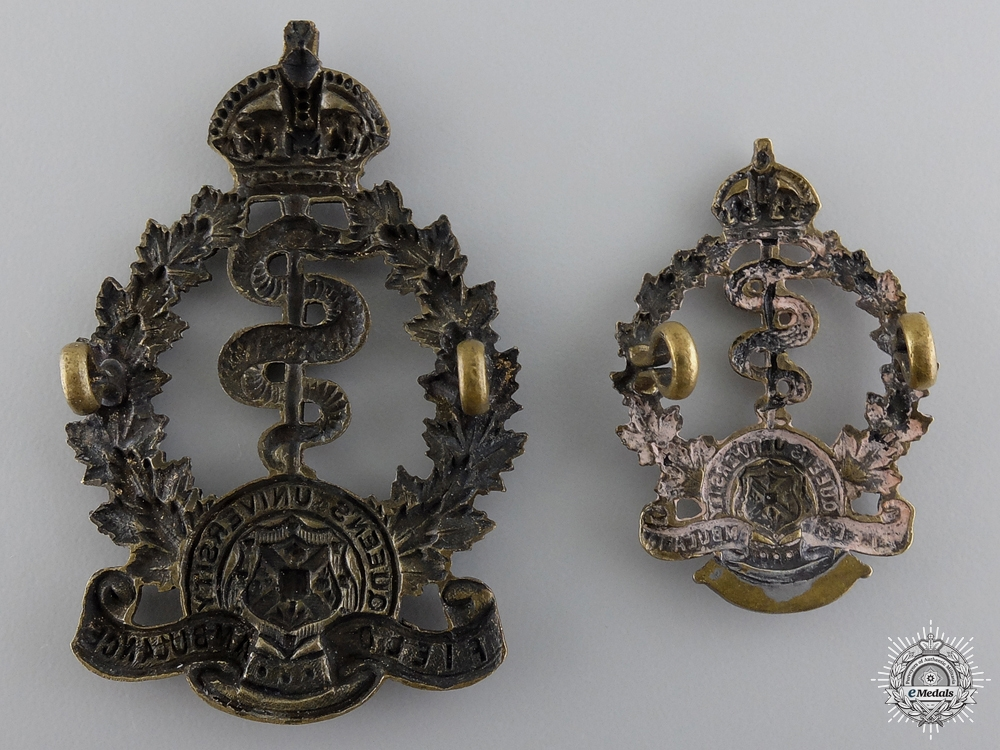 WWI 2nd Queen's University Canadian Field Ambulance Insigniaconsign 17