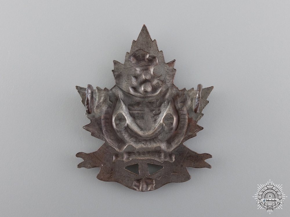 WWI 8th Saskatchewan Overseas Canadian Stationary Hospital Cap Badge  consign 17