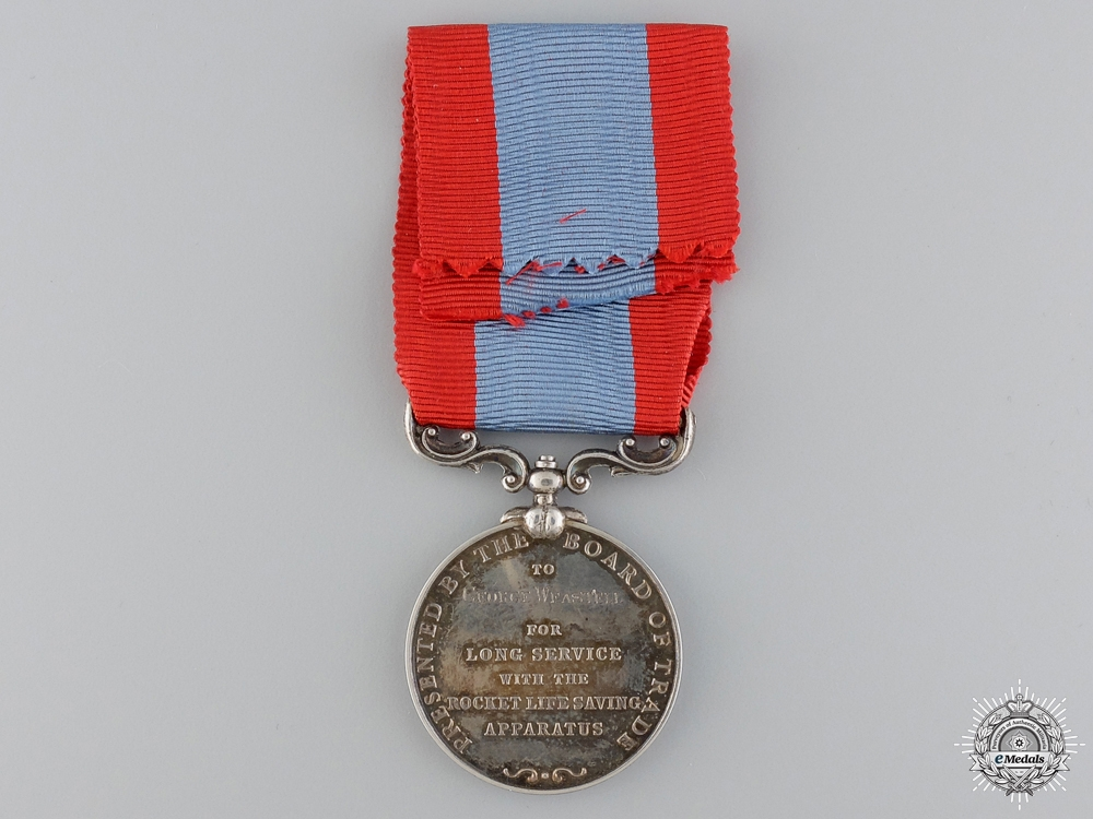 A Rocket Apparatus Volunteer Long Service Medal