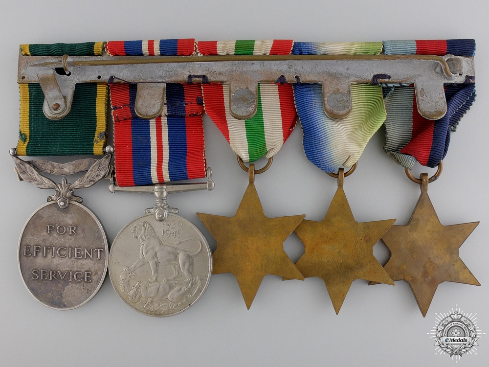 A Second War Medal Bar to Royal Army Medical Corps