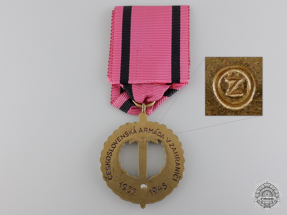 A Second War Czech Commemorative Medal