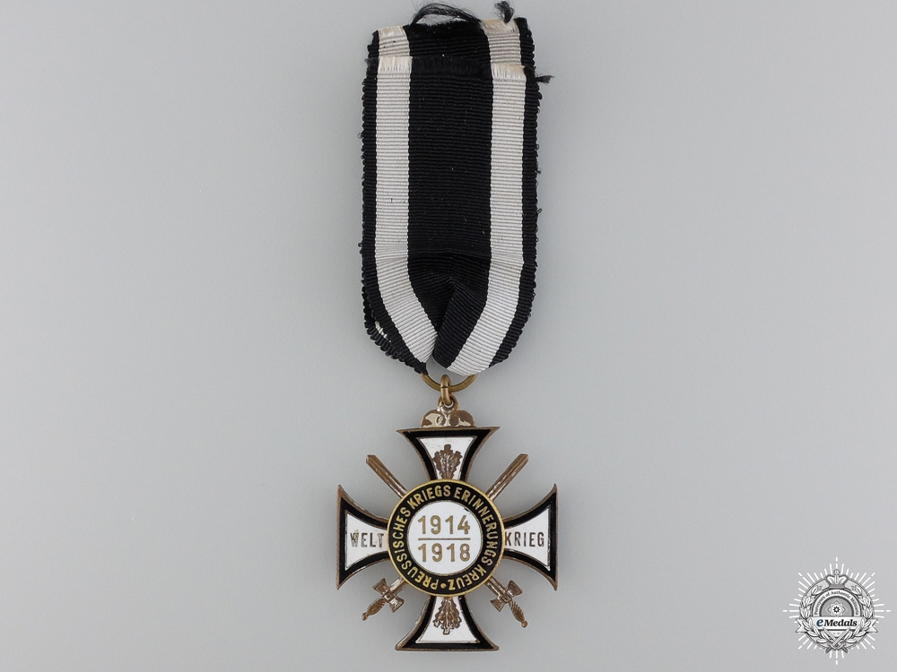WWI War Veteran's Participant's Cross 1914-1918