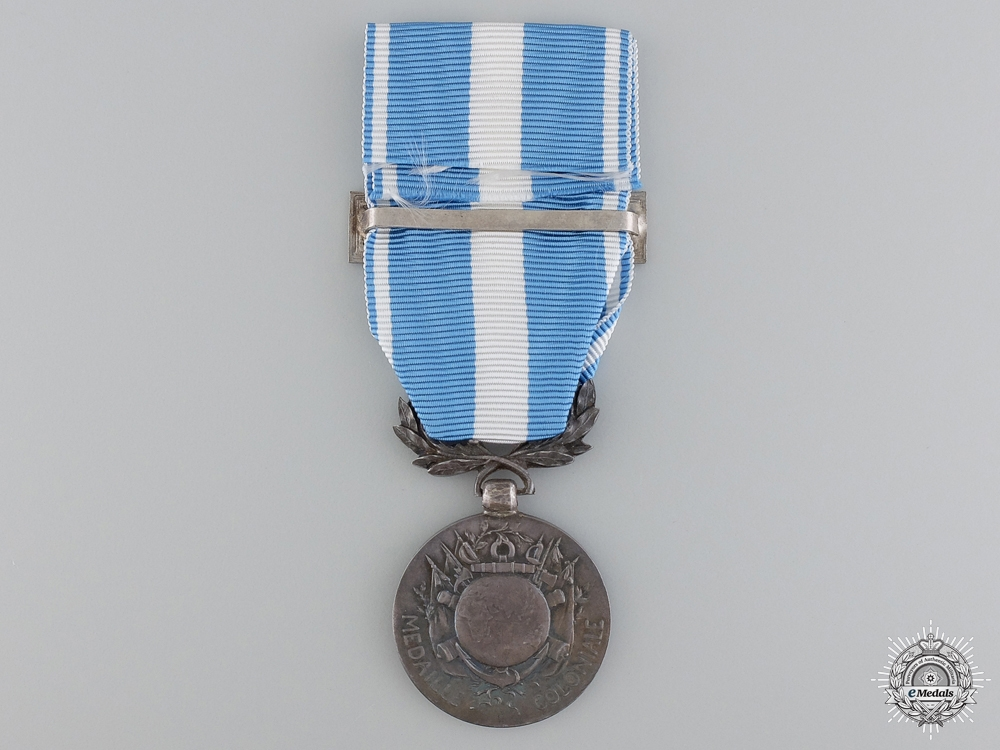 A French Colonial Medal; Tunisie Campaign
