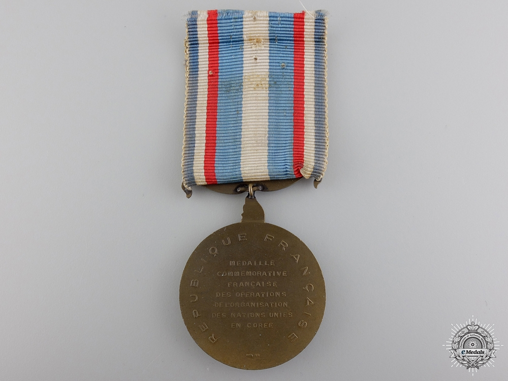 A French Korean War Medal 1952