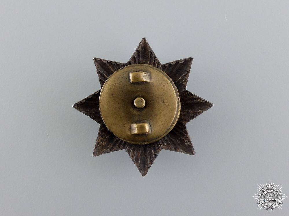 Bulgaria, Kingdom. A Miniature Military Order for Bravery, Grand Cross