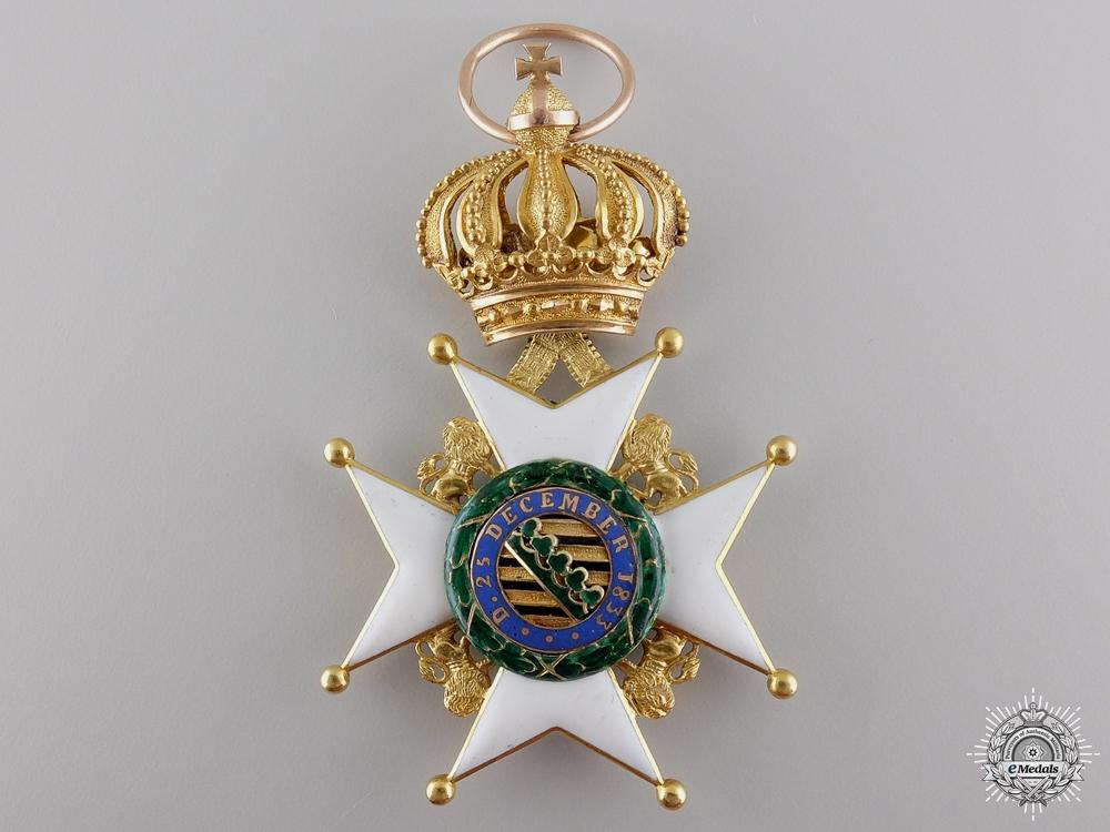 A Gold Saxe-Ernestine House Order for Goburg & Gotha Division