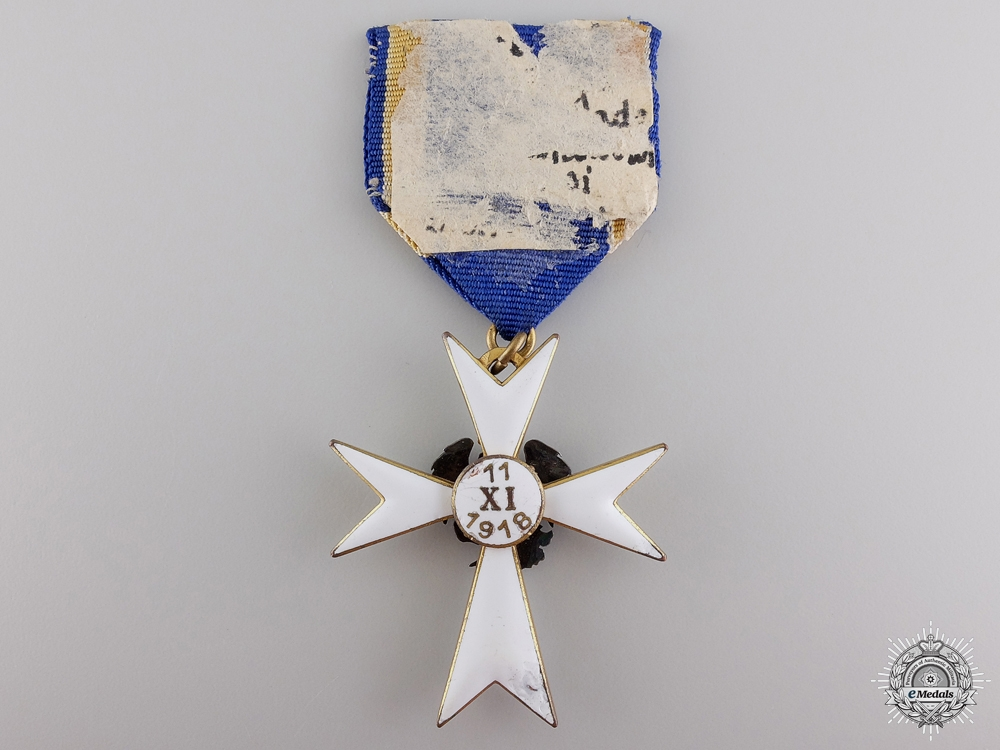 An Estonian White Cross of the Home Guard; Third Class
