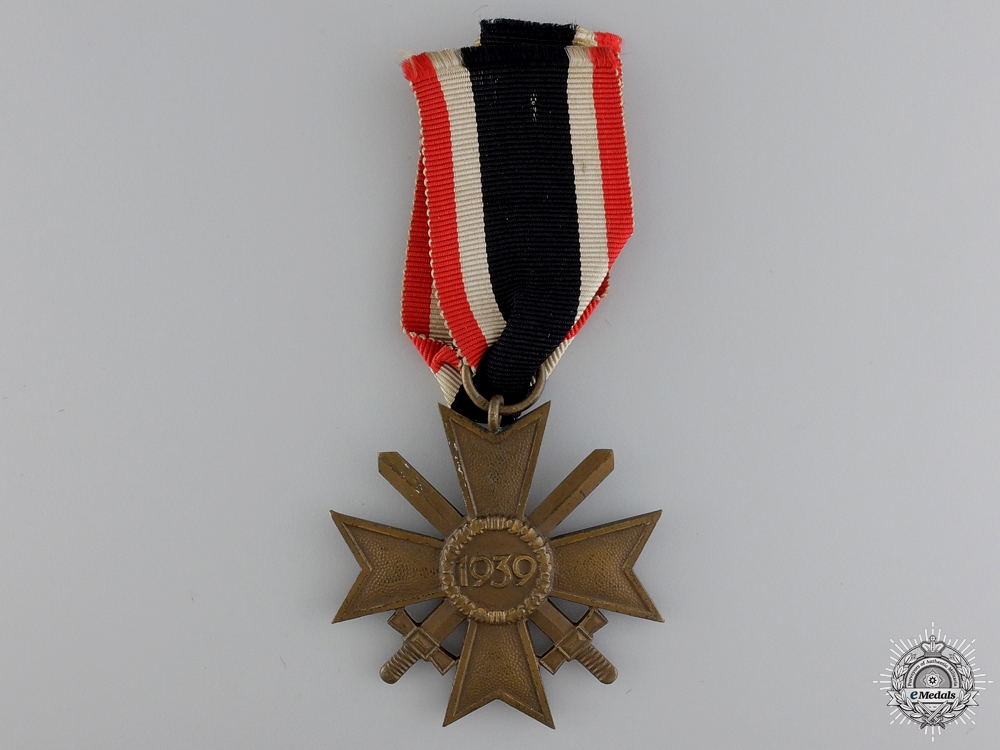 A  War Merit Cross 2nd Class with Swords by Karl Wurster