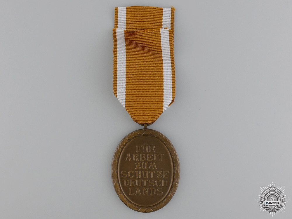 A Second War West Wall Medal