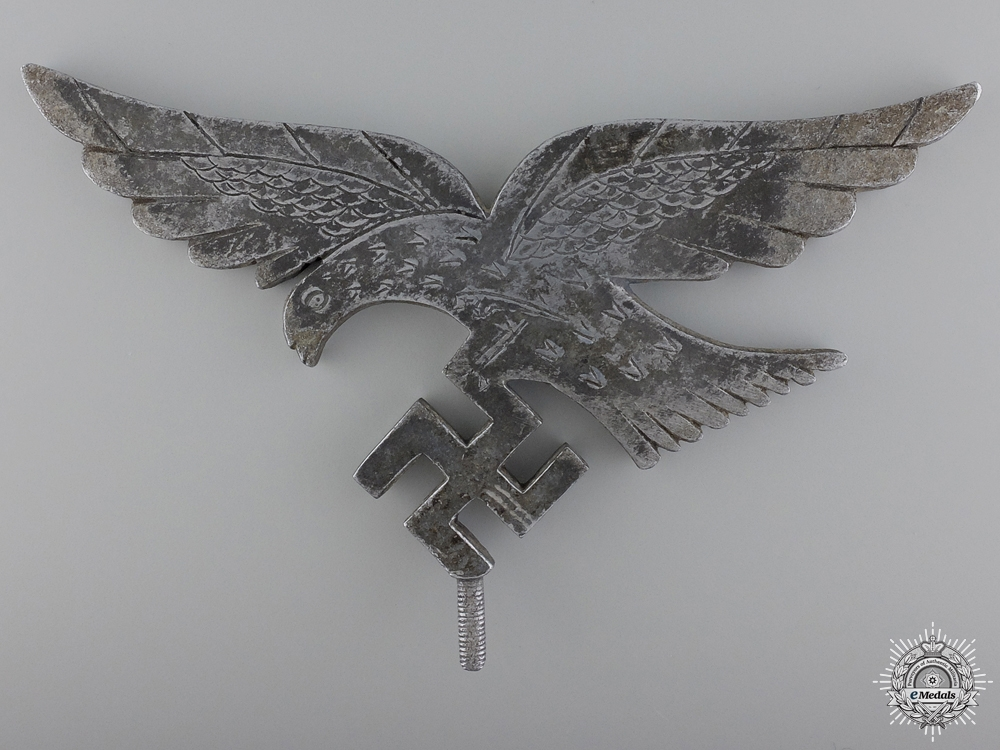 A Field Made Luftwaffe Flag Top Eagle