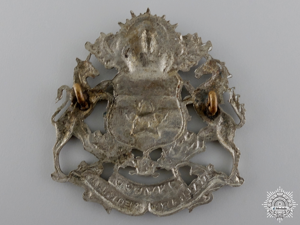 A Second War Calgary Regiment Cap Badge