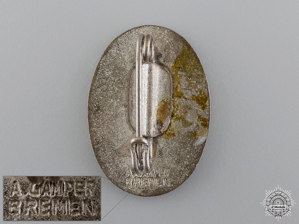 A Bremen SA Group Standard Bearer Badge by A.Gamper