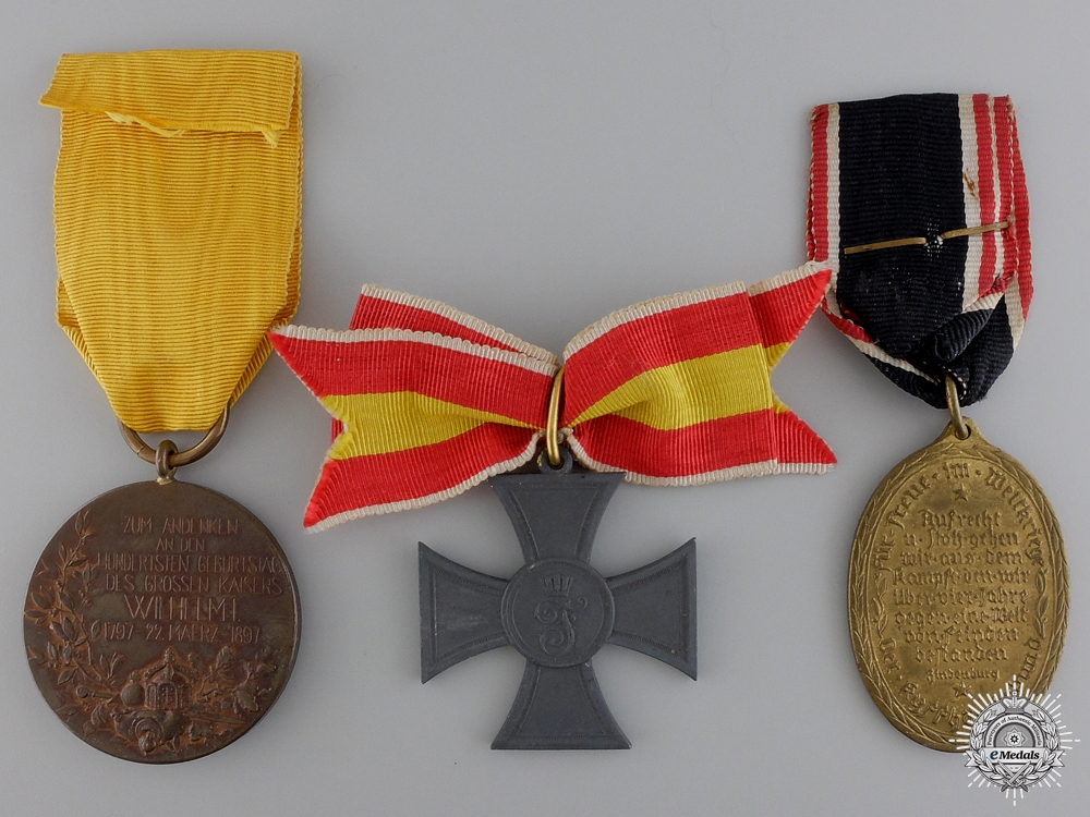 Three First War German Imperial Awards