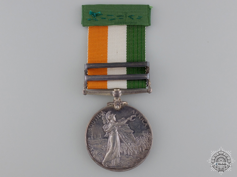 A King's South Africa Medal to the Royal Garrison Artillery