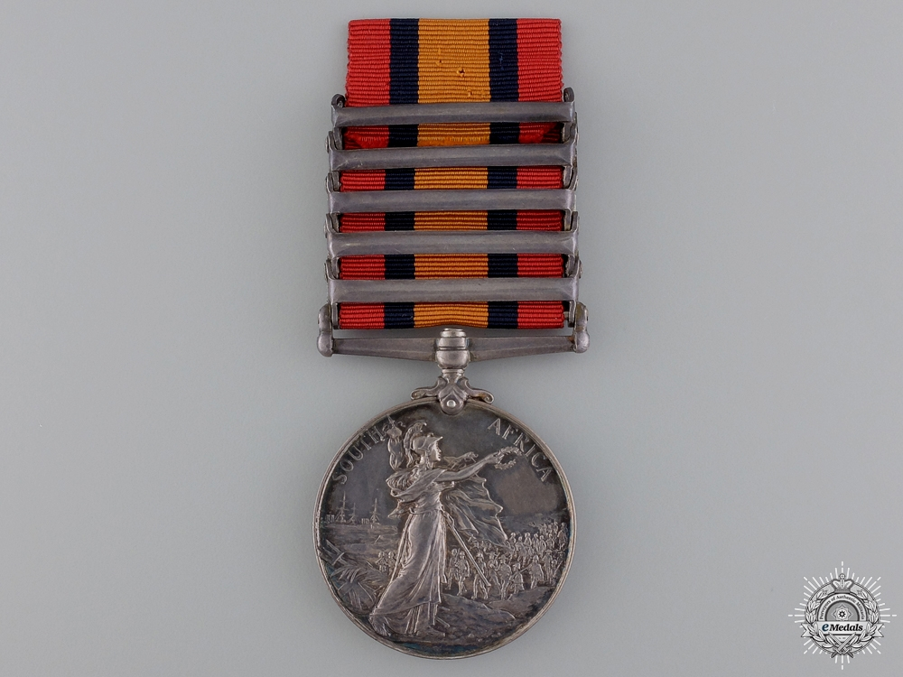 A Queen's South Africa Medal to the Royal Field Artillery