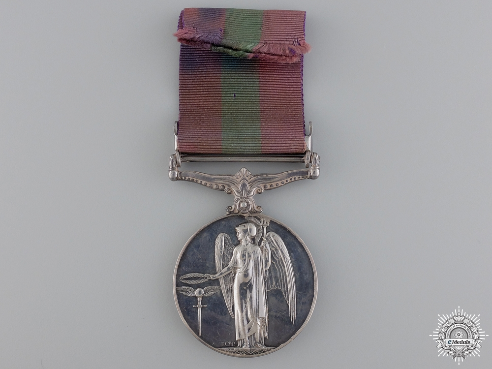 A General Service Medal to the Royal Artillery