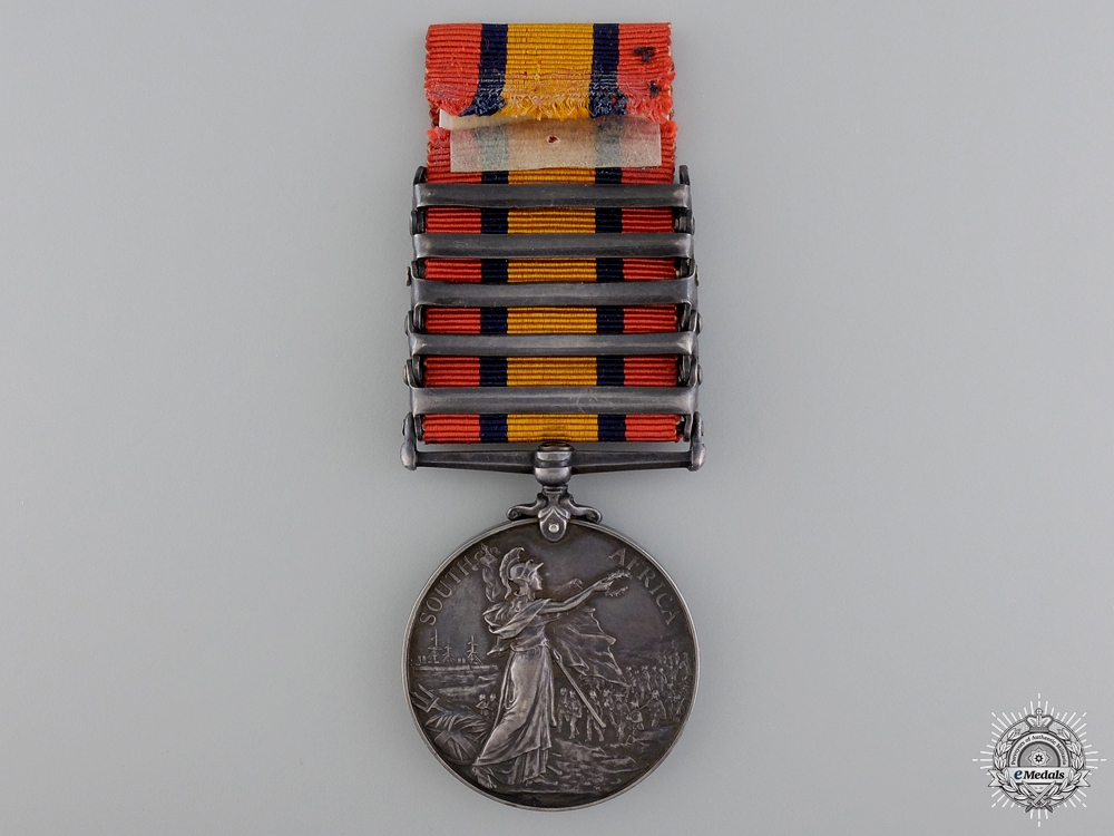 United Kingdom. A Queen's South Africa Medal to the South Africa Constabulary