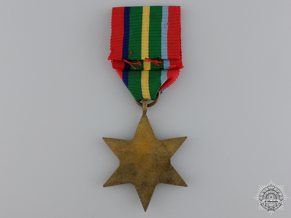 A Second War British Pacific Campaign Star