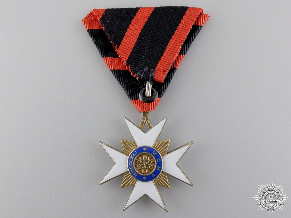 A Order of St. Sylvester; Knights Cross