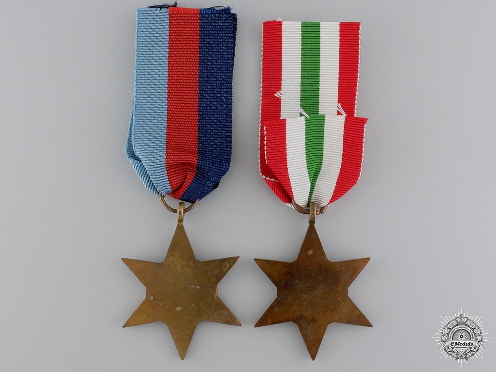 Two Second War British Campaign Stars