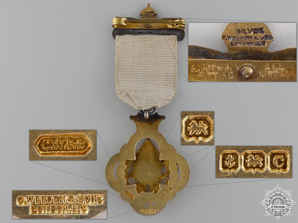 A Royal Masonic Institution for Girls (RMIG) Silver Stewards Jewel