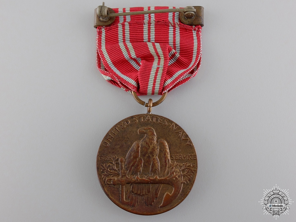 An American Second Nicaraguan Campaign Medal; Numbered