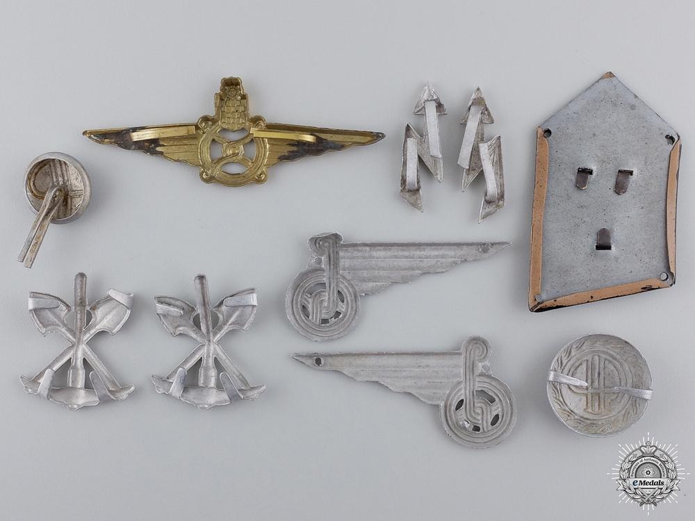Second War Croatian Insignia & Badges