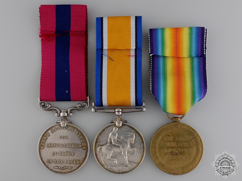 A First War King's African Rifles Distinguished Conduct Medal Group