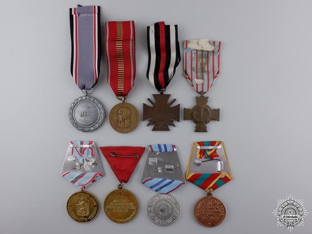 Eight European Medals