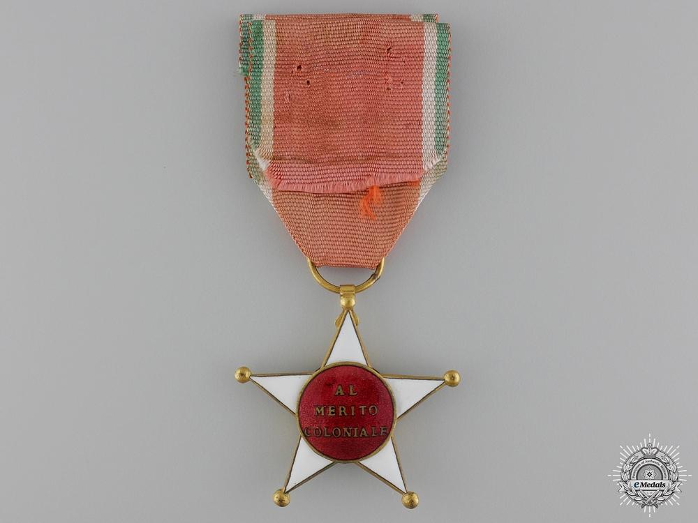 An Italian Colonial Merit Order; Knight's Breast Badge