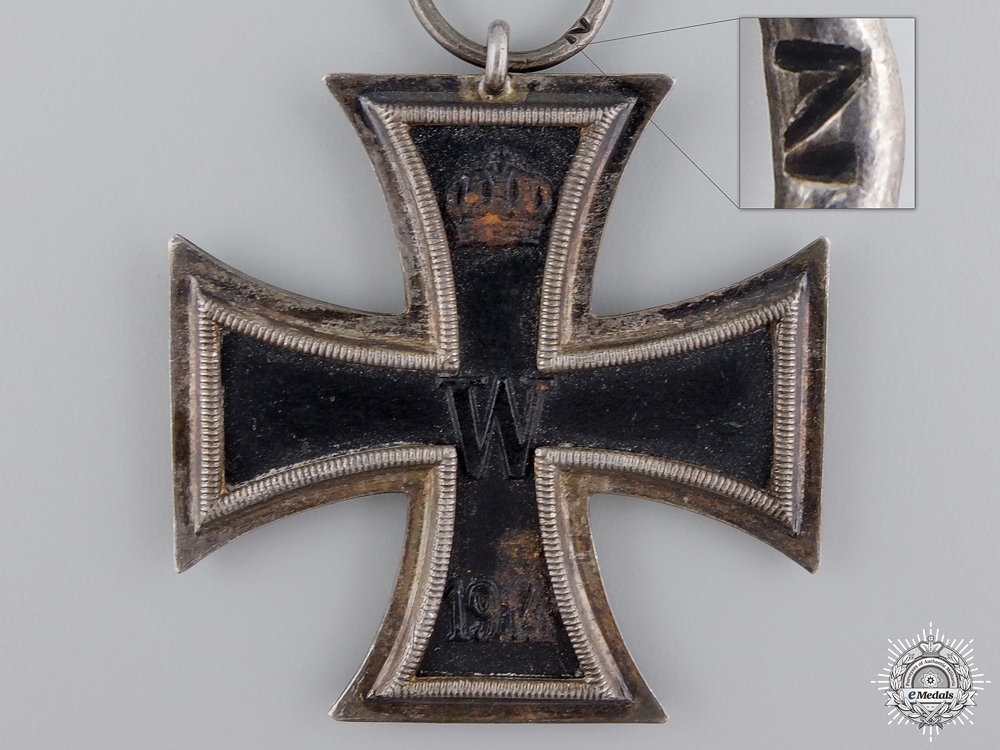 An Iron Cross Second Class 1914 by Zeich, Berlin