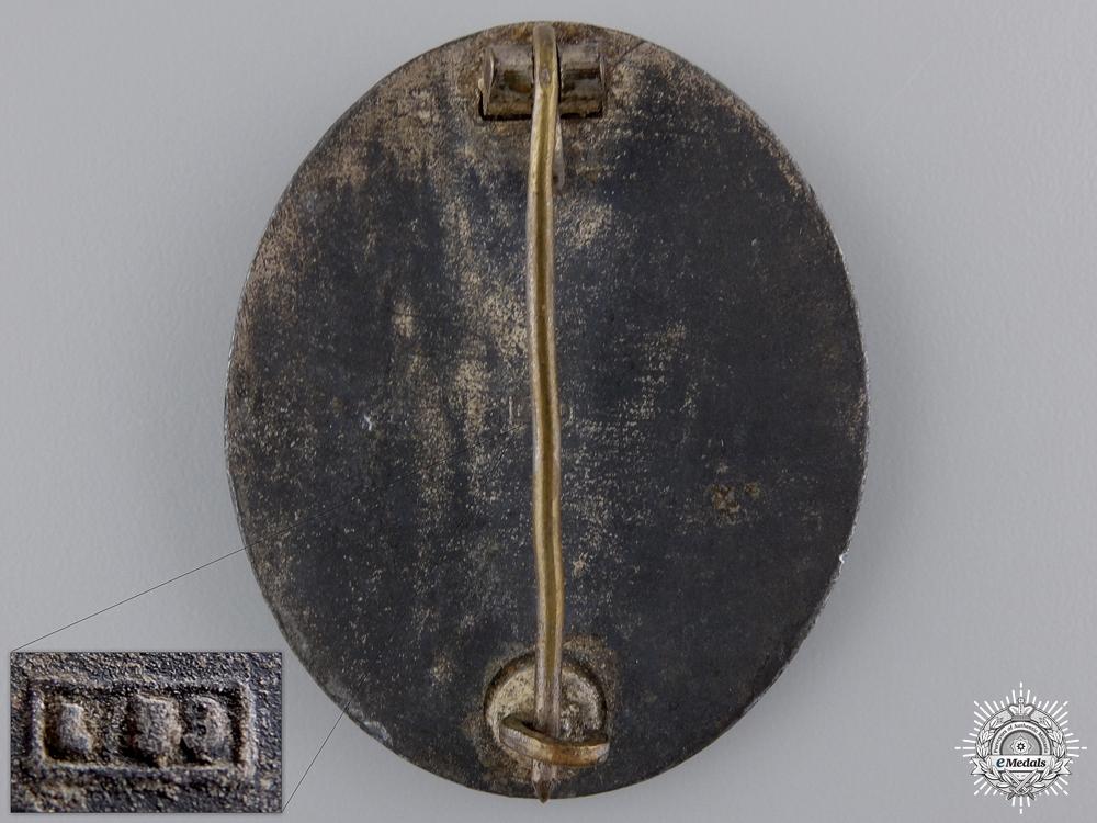 A Gold Grade Wound Badge by Hymmen & Co. Lüdenscheid