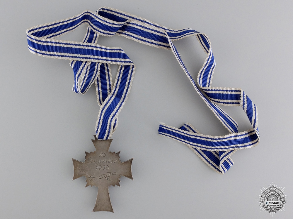 A Silver Grade German Mother's Cross