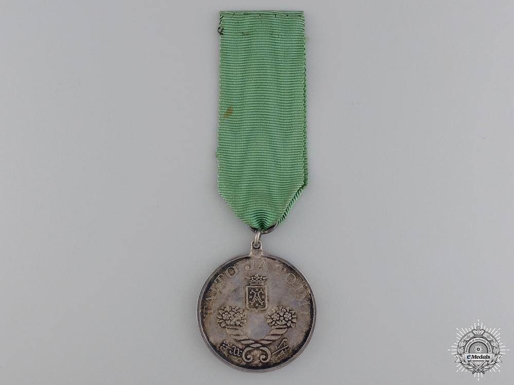 A Finnish Economic Society Merit Medal
