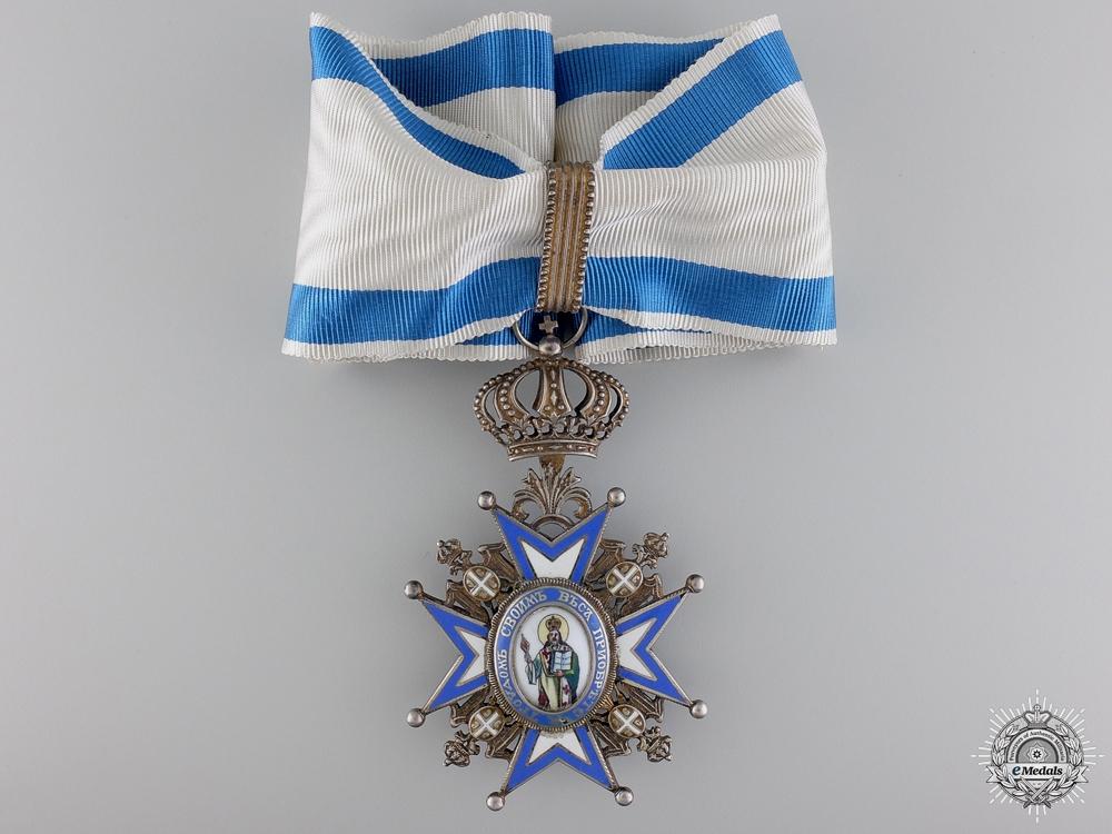 A Serbian Order of St.Sava; Third Class Neck Badge