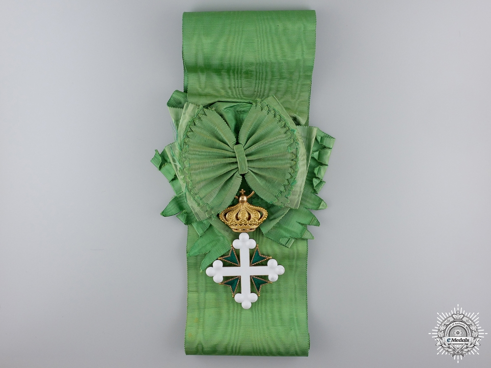 An Italian Order of St.Maurice & St.Lazarus; Grand Cross