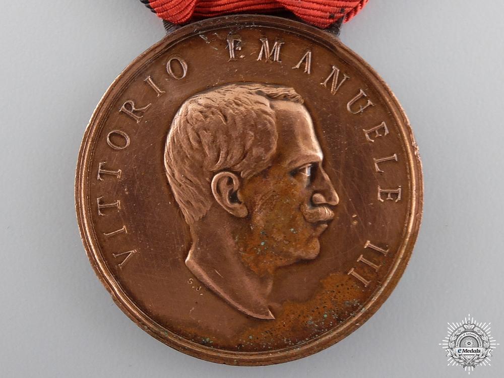 An Italian 1915 Earthquake Medal