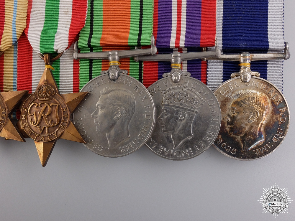 A Second War Group of Eight to Senior Commissioned Stores Officer Rowell