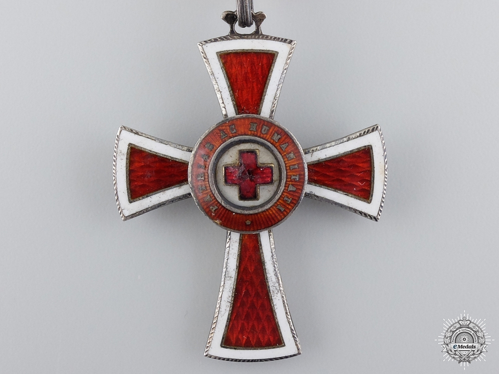 An Austrian Honour Decoration of the Red Cross; 2nd Class
