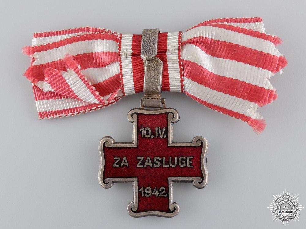 A Croatian Ladies Order of Merit; Christian Version