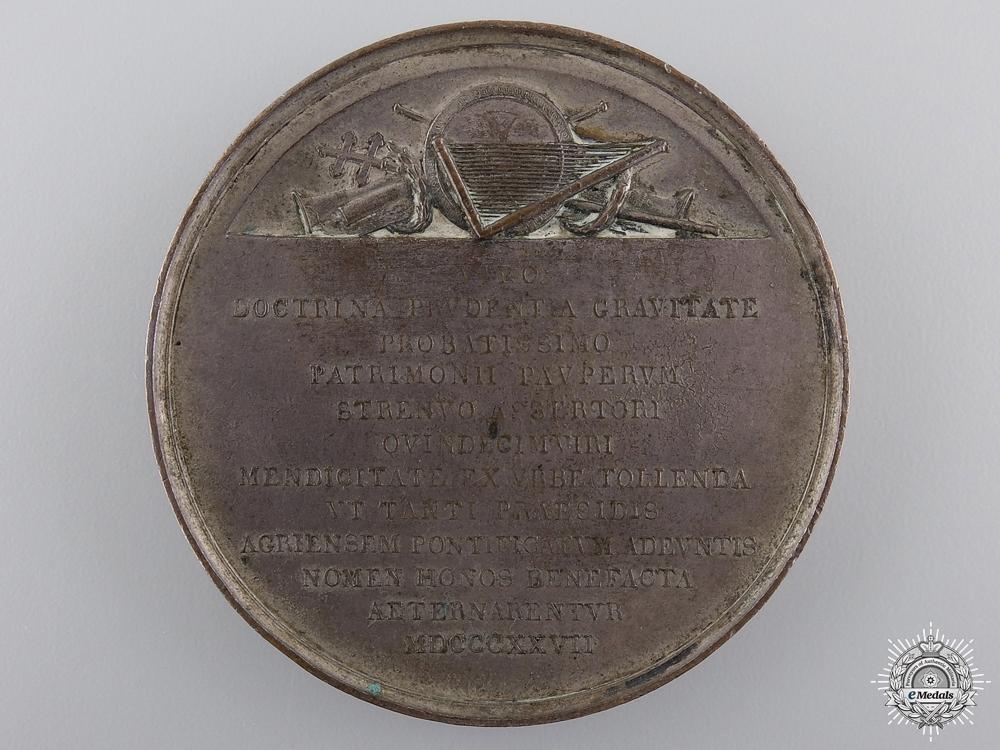 An 1827 Italian Patriarch of Venice Ladislaus Pyrker Medal