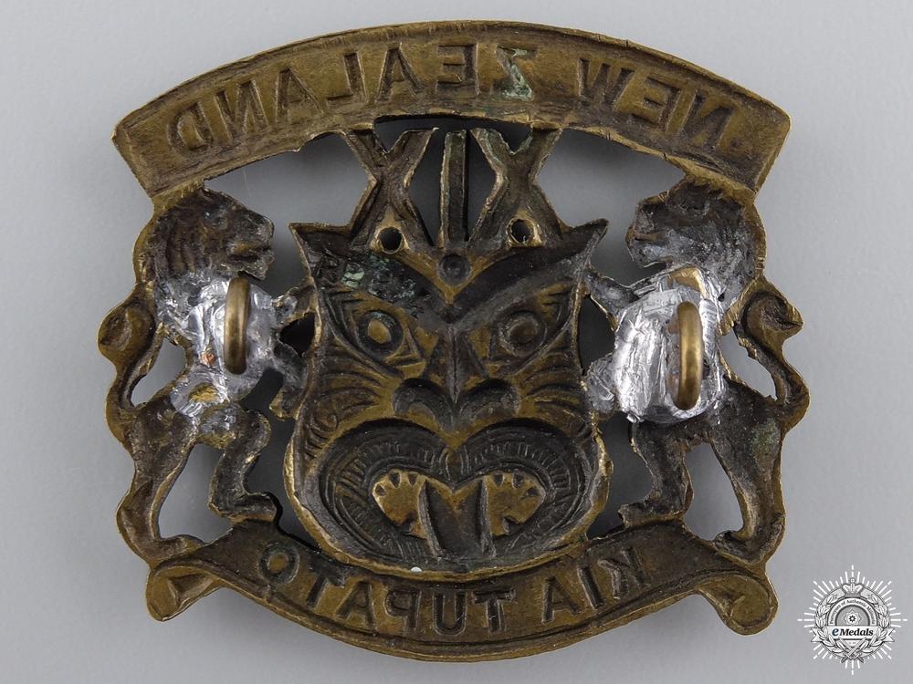 A New Zealand First War 19th Reinforcements Cap Badge
