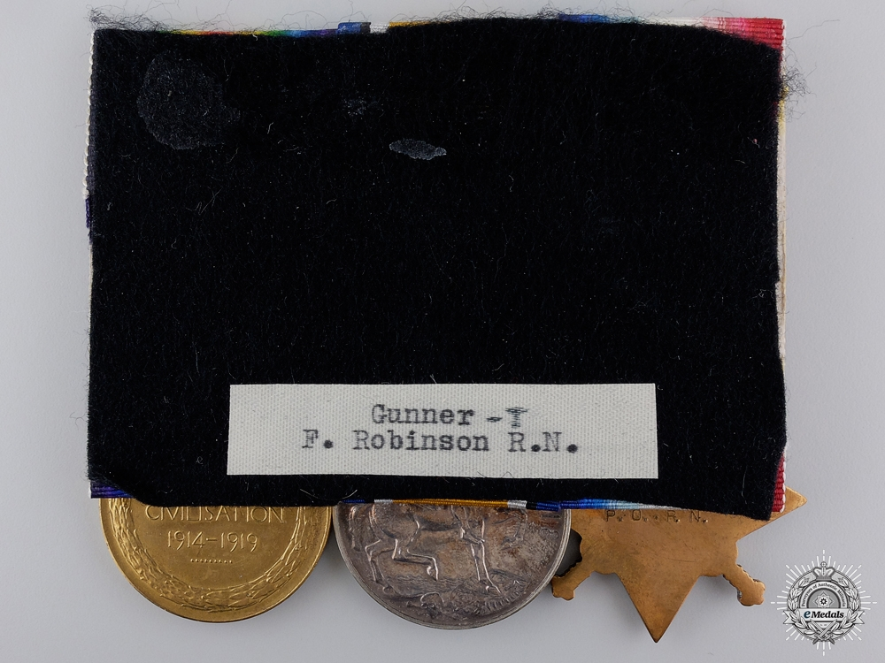 A First War Medal Group to H.M.S. Mounsey