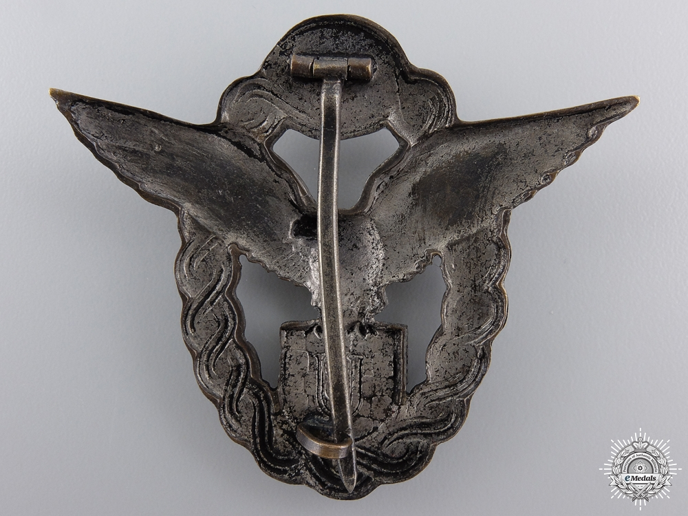 A Second War Croatian Pilot's Badge