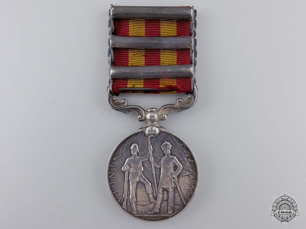 An 1895-1902 Indian Medal to the 20th Madras Light Infantry
