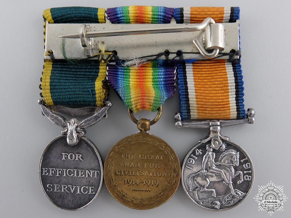 A Miniature First War Canadian Efficiency Medal Bar