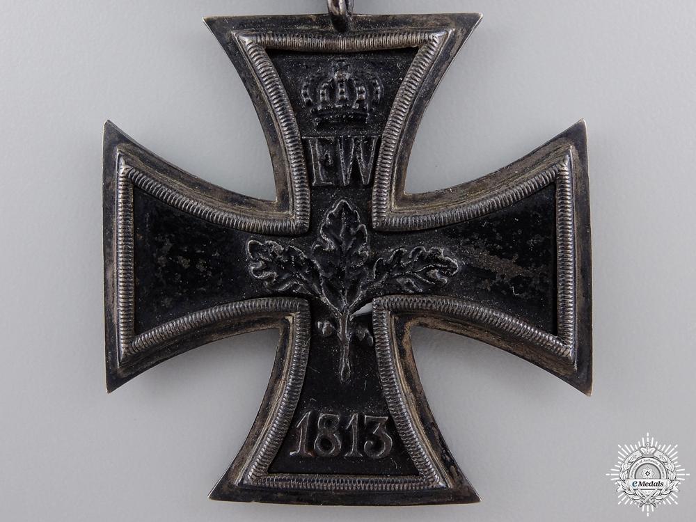 An 1813 Iron Cross Second Class to Carl Heinrich Ludwig Schoepffer