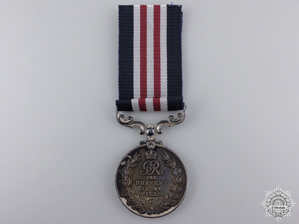 A First War Military Medal to the West Yorkshire Regiment